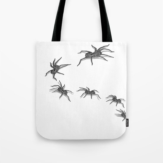 Wolf Spiders Tote Bag