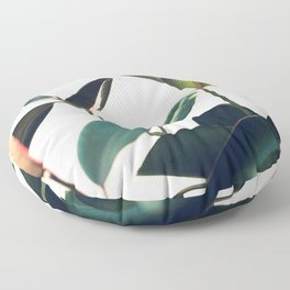 Ficus Elastica #8 Floor Pillow