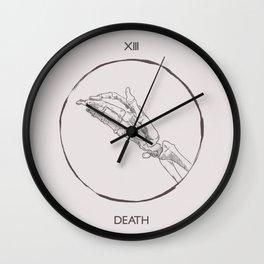 13 - The Death Tarot Card Wall Clock