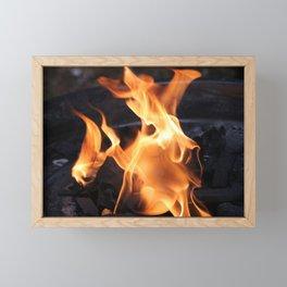Eternal Flame Framed Mini Art Print