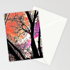 Violet Night  Stationery Cards