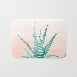 Desert Succulent Aloe Vera Bath Mat
