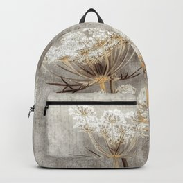French Country Queen Anne's Lace Backpack
