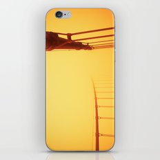 Golden - Golden Gate Bridge iPhone & iPod Skin