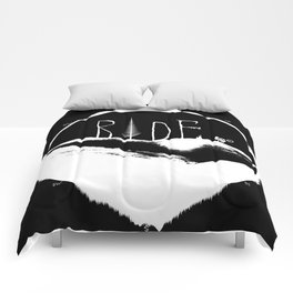 Mountains Ride Comforters