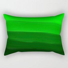 Ombre in Green Rectangular Pillow