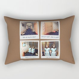 Twins & Chocolate Rectangular Pillow
