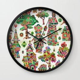 Crystal Hamlet Wall Clock