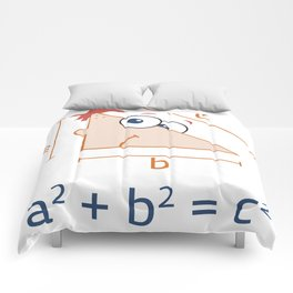 Perfect Geometry Comforters