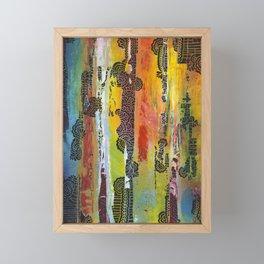 Rise Framed Mini Art Print