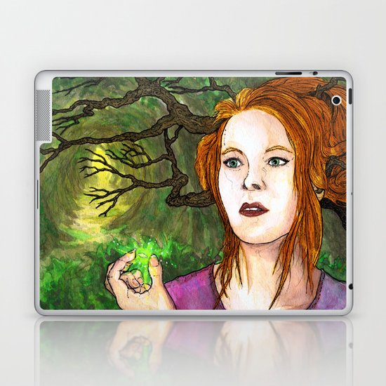 """Through the Woods"" by Cap Blackard Laptop & iPad Skin"