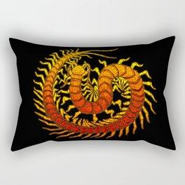 Scolopendra Rectangular Pillow
