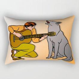 Sound Duo Rectangular Pillow