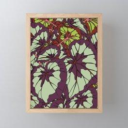 Rex Begonia Illustrated Print Framed Mini Art Print