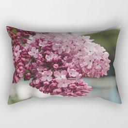 Spring Lilacs Rectangular Pillow