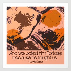 Call Me Tortoise Art Print