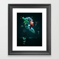 The Dream Inside Framed Art Print