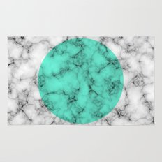 Marble Texture Abstract Rug