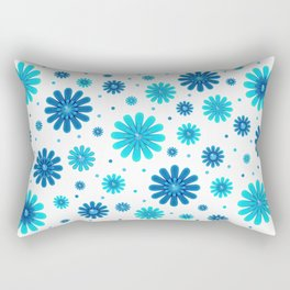 Flowers pattern 215 Rectangular Pillow