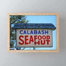 Seafood Diner Framed Mini Art Print