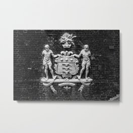 Coat of Arms for the Board of Ordinance Tower of London England Metal Print