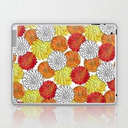 Dahlia Garden Summer Laptop & iPad Skin