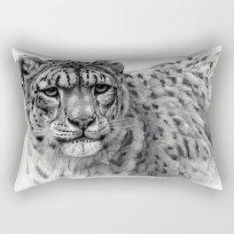 Snow Leopard G2010-003 Rectangular Pillow