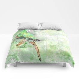 La Gran Lapa Verde Comforters