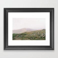 Misty Mountains II Framed Art Print