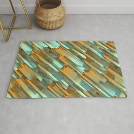 Rusty edges Rug