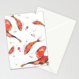 Colección Peces en Blanco Stationery Cards