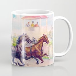Louis Maurer - Pacing for a grand purse - Digital Remastered Edition Coffee Mug