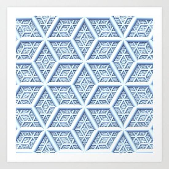 Ice is Nice Art Print