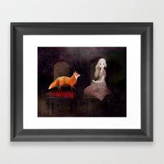 Soul Tied Framed Art Print