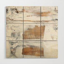Wood planks shipboard repairing Wood Wall Art