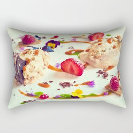 Peach tiramisu :) Rectangular Pillow