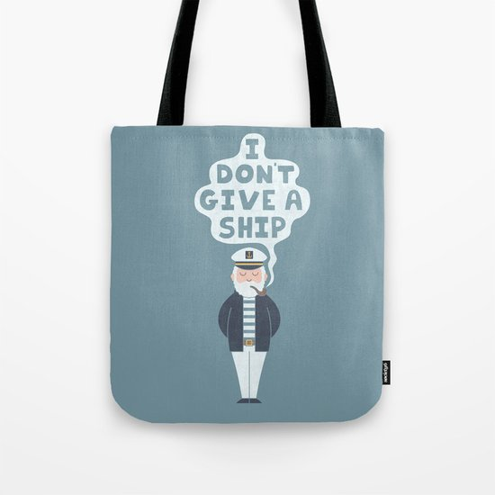 Indifferent Captain Tote Bag