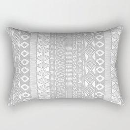 Adobe in Grey Rectangular Pillow