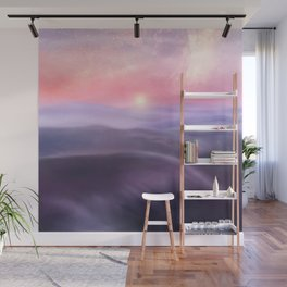 Minimal abstract landscape III Wall Mural