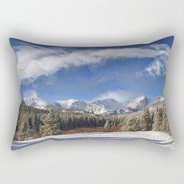 Rocky Mountain Park  by Lena Owens Rectangular Pillow