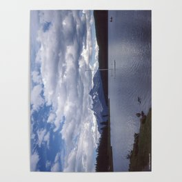 Maligne Lake Alberta Poster