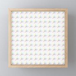 Sun and color 4 Framed Mini Art Print