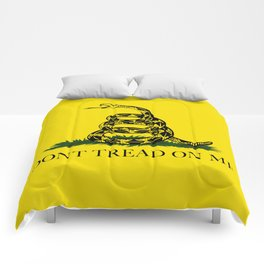 Don't Tread On Me Gadsden Flag Comforters