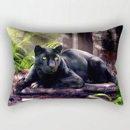 Protector of ancient tempels Rectangular Pillow