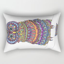 Patterned Owl Rectangular Pillow