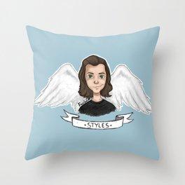 Angel Harry Throw Pillow