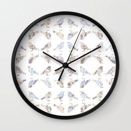 Dreamy Birds I Wall Clock