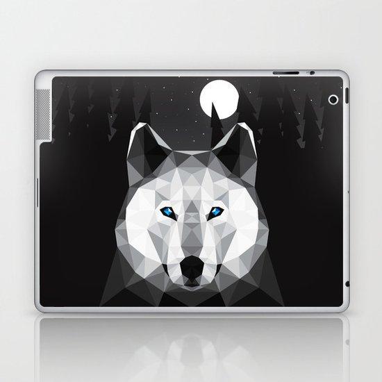 The Tundra Wolf Laptop & iPad Skin