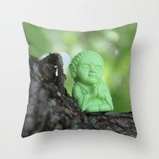 Little Bu Tree Throw Pillow