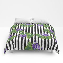 Sweet Violet - Birth Month Flower For February Comforters
